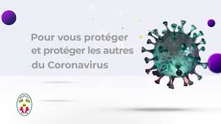 Mesures de prévention du Corona virus en éwé