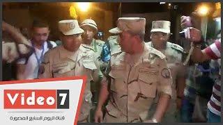 نائب رئيس هيئة تسليح القوات المسلحة يتفقد لجان الدقى
