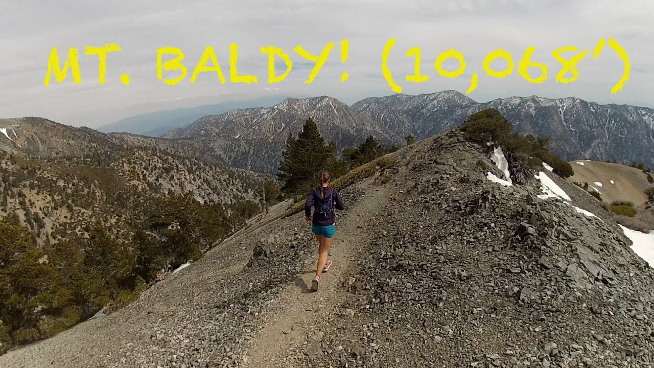 Mt Baldy Summit Aka Mt San Antonio Outside La At 10 068