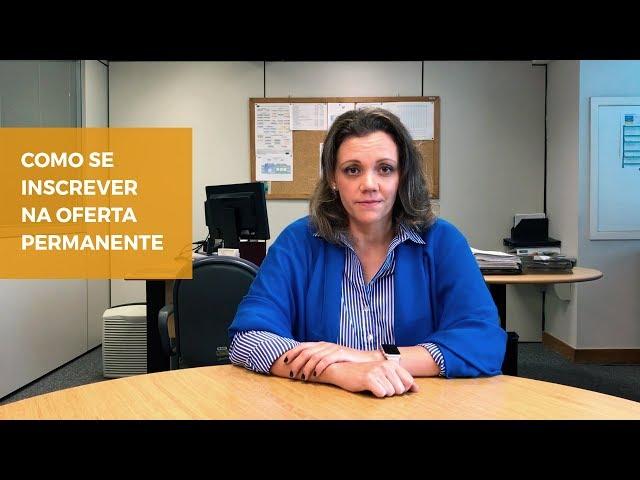 Oferta Permanente #2 - Como se inscrever na Oferta Permanente?