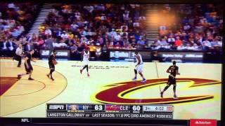 ESPN Gives New York Knicks PG Langston Galloway High Praise