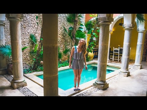 Home Tour - TOURING BEAUTIFUL MEXICAN HOUSES! (Mexico Vlog Day 9)