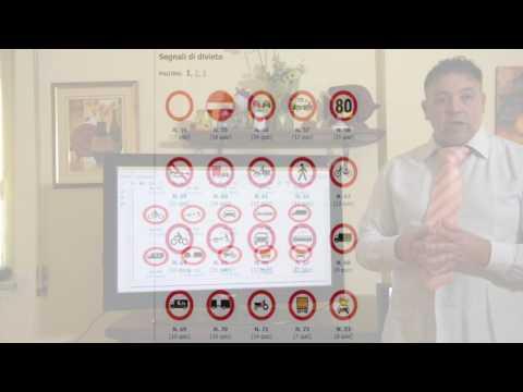 Segnali divieto  - Scuolaguida Videolelzione  Esame patente B