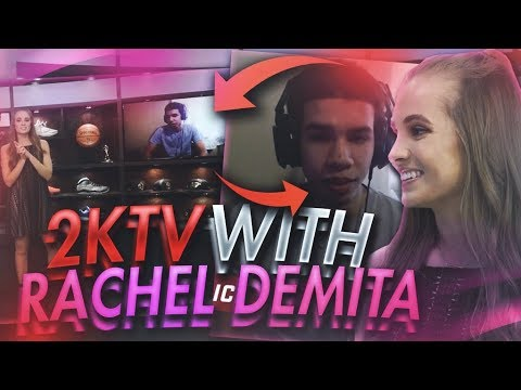 OMG IM ON NBA 2KTV LIVE WITH RACHEL DEMITA 😊!NBA 2KTV INTERVIEW REACTION! FIRST 98 OVERALL ON 2KTV!