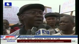ASUU strike: police stops Lecturers protest in FUTA