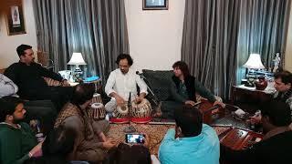 Shahbaz Hussain khan teental with Sunny Jimmy khan