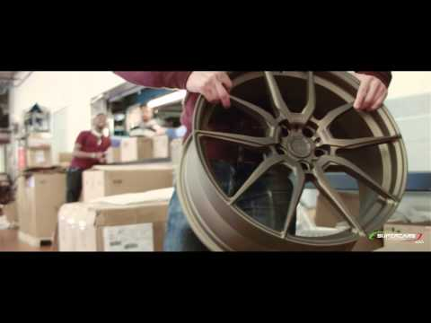 Lamborghini Huracan: Installing my new ADV.1 Rims [Behind the Scenes]