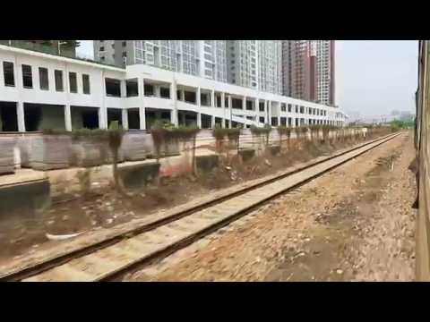 [HD] Ride the Northbound passenger train no. 1204/1201 (ShenZhen Xi {West} to XinYang)