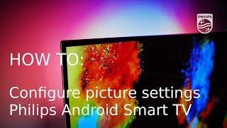 Як настроїти параметри зображення - Philips для Android Смарт-ТВ [2017]