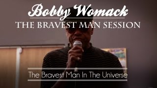 """Bobby Womack & Damon Albarn Perform """"The Bravest Man In The Universe"""" - 3 of 4"""