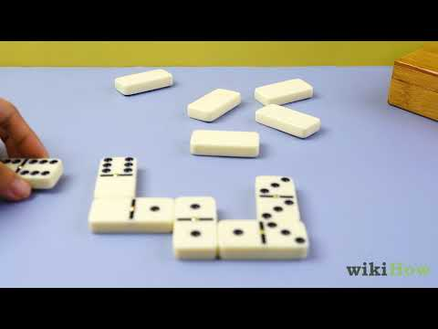 3 Ways To Play Dominoes Wikihow