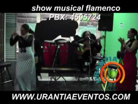 show de flamenco para eventos BOGOTA  PBX  4595724