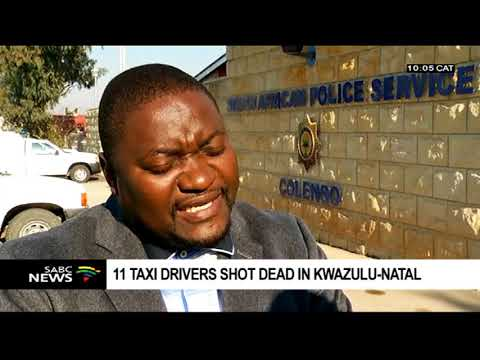 11 taxi drivers shot dead, 4 critically wounded in KZN