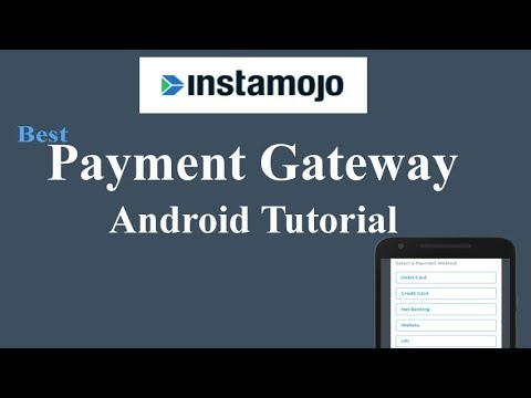 Payment Gateway Instamojo Integration -Android Tutorial