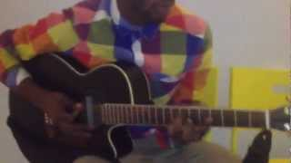 David de Fataki playing Quickie by Miguel (Instrumental Acoustic)