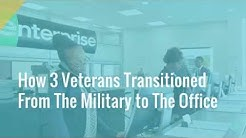 How 3 Veterans Transitioned from the Military to the Office - Enterprise Jobs and Careers