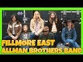 THE ALLMAN BROTHERS BAND Fillmore East Full Album Reaction