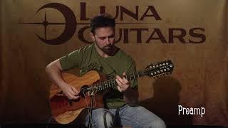 Vista Eagle 12 String w/ Fishman Preamp by Luna Guitars