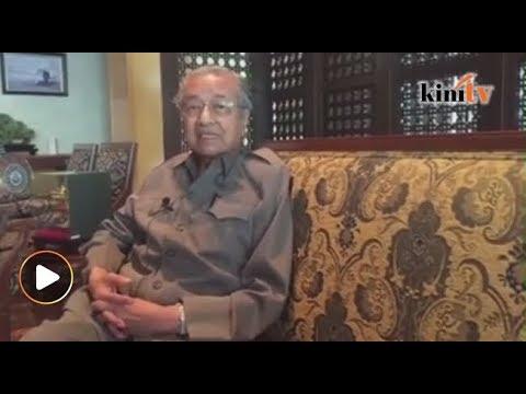 Selepas kena serang di forum, ini jawab Mahathir