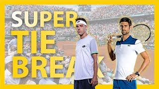 ROLAND GARROS 2018 | Super Tie break NOVAK DJOKOVIC VS MARCO CECCHINATO