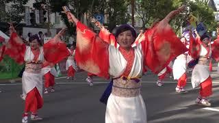 第66回(2019年)よさこい祭りで撮影した動画です! 撮影場所:追手筋 ○サイト https://yosakoimatsuri.com/