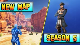 *NEU* STAFFEL 5 MARS KARTE KOMMT? * RIESIG* Fortnite SEASON 5 Battle Pass GIVEAWAY