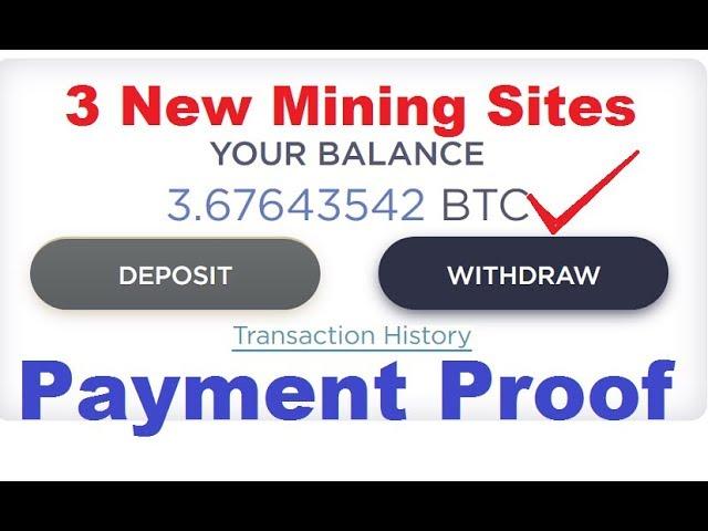 34 57 MB) New Free Bitcoin Cloud Mining Sites 2019 | Earn