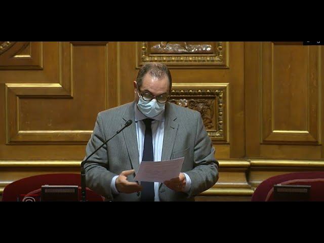 Franck MENONVILLE : Débat sur les problèmes sanitaires et écologiques liés à la pollution des sols