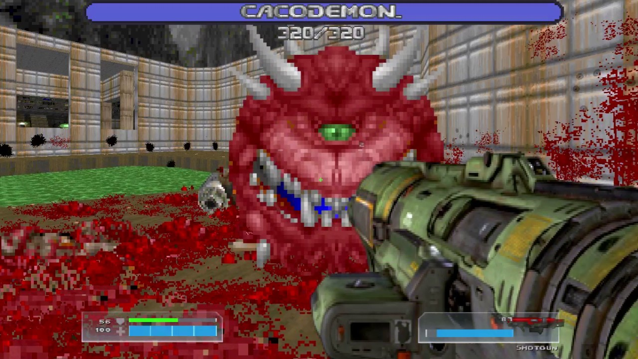 Doom 4 Weapons in Doom 2 | LAZARUS Mod 2 is OUT! REALESED! GET HERE!