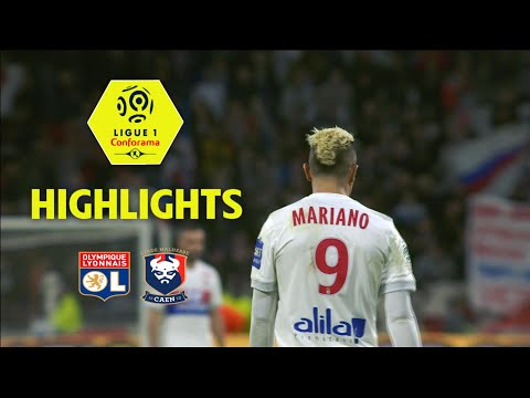 Olympique Lyonnais - SM Caen (1-0) - Highlights - (OL - SMC) / 2017-18