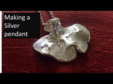 Making a Silver Pendant using Precious Metal Clay (PMC3)