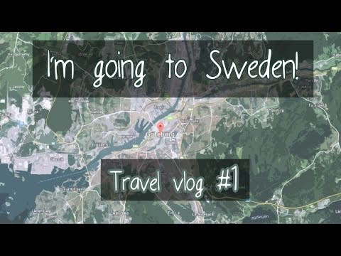 First days in Sweden! [Travel Vlog] #1