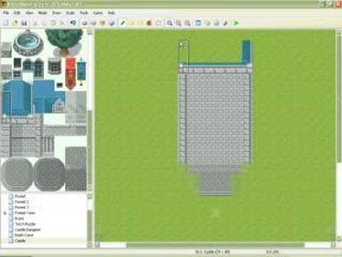 RMXP Video Mapping Tutorial - Castle Part 2
