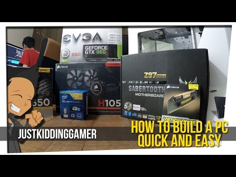 How To Build A PC Quick And Easy
