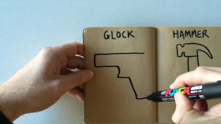 How to Draw a Glock