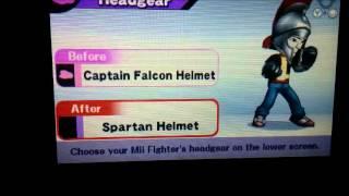Super Smash Bros. para 3DS - Todos Los sombreros Mii hasta el momento!