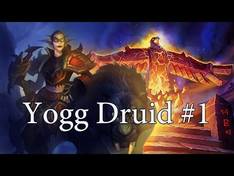 Hearthstone Midrange Yogg Druid S26 #1: Backup Plan