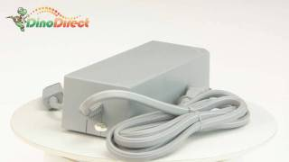 110-240V AC Power Adapter with US Plug for Nintendo Wii - dinodirect