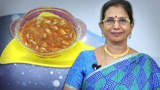 Mushroom in Garlic Sauce   Mallika Badrinath Indian Recipes   Chapathi Side Dish