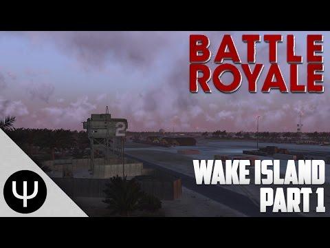ARMA 3: Battle Royale Wake Island — Part 1 — Fall Asleep!