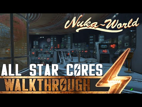 Fallout 4 Nuka World - All 35 Star Core Locations Guide (Part of Star Control Quest)
