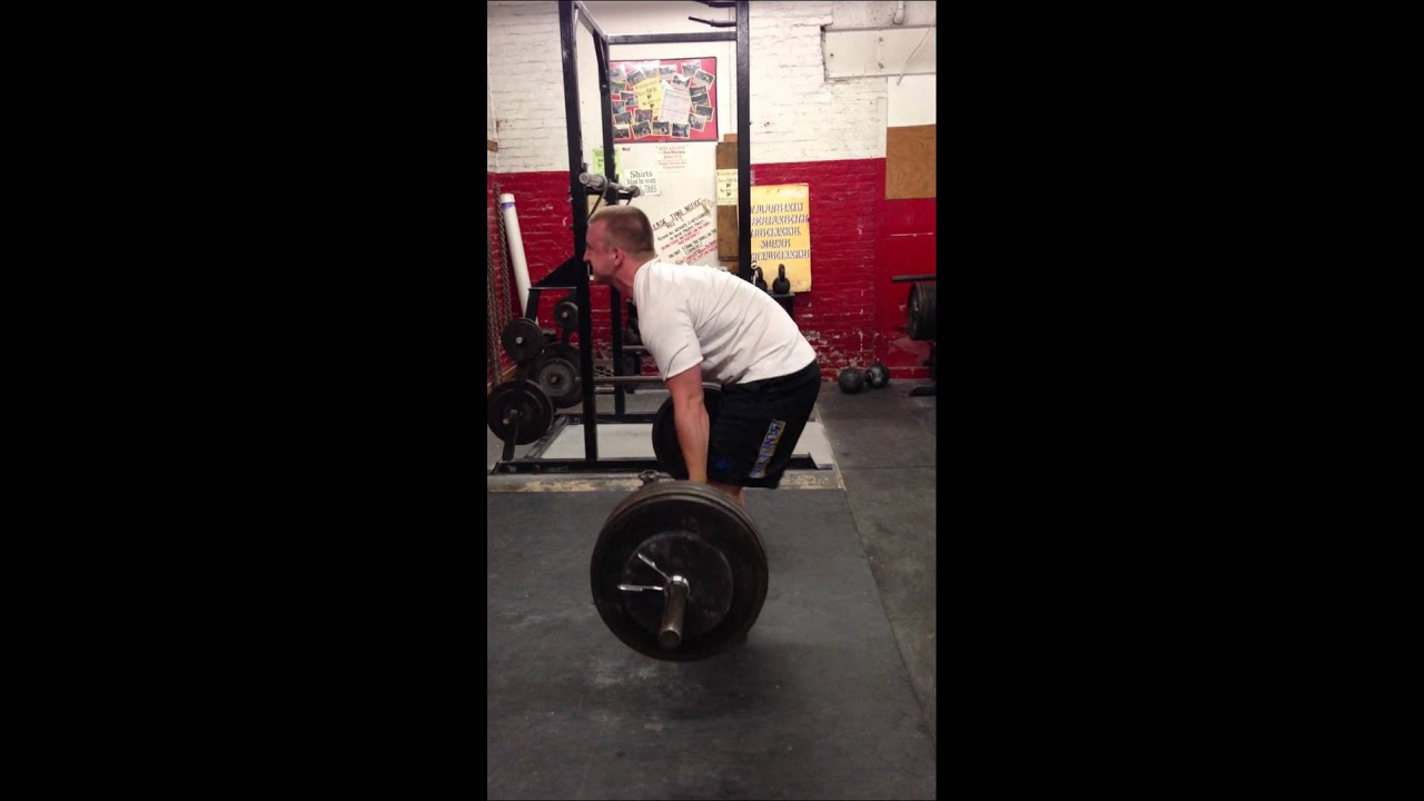 Deadlift 455x1 Max Weight Poor Form Youtube