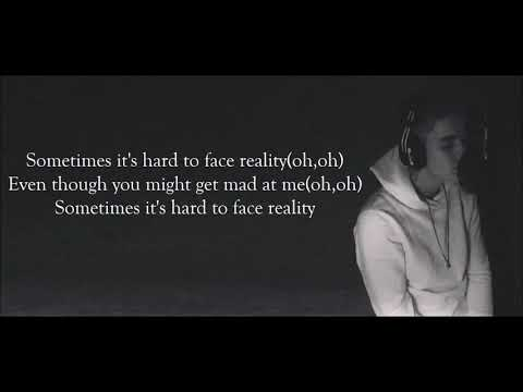 Justin Bieber - Hard To Face Reality (Lyrics Video)