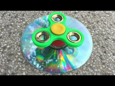 Thumbnail: 3 BEST FIDGET SPINNER HACKS & DIY TOYS!