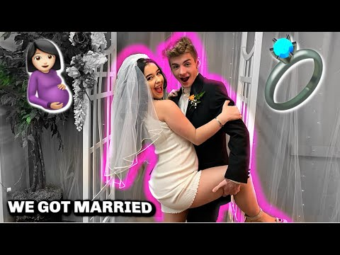 Teenage YouTubers Danielle Cohn and Mikey Tua face online backlash after their fake Las Vegas wedding and pregnancy prank backfires