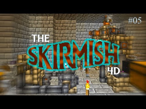 The Skirmish 4D #05 - ПЕРЕРАБОТКА РУДЫ НА EMBERS - майнкрафт магическая сборка 1.12.2 с модами