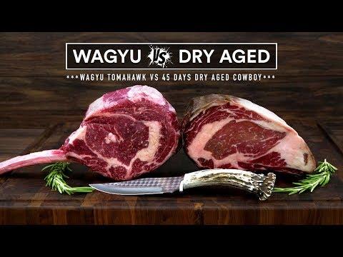 WAGYU Tomahawk vs DRY AGED Cowboy Steak - Beef FIGHT!