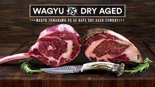 WAGYU Tomahawk vs DRY AGED Cowboy Steak - Beef FIGHT!