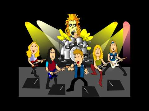 Iron Maiden - The Number of the Beast - Animated Parody