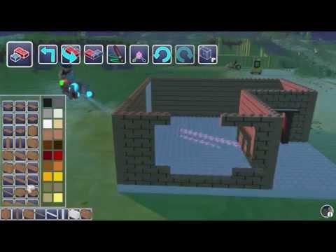 LEGO Worlds PC игра [Начинаю строительство первого дома для своего города]